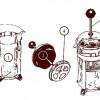 Френч-пресс (французский пресс, плунжерный кофейник)