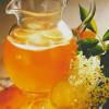 Чайный крюшон с цветами бузины