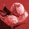 Мороженое с каркаде