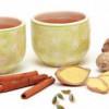 Рецепт холодного Имбирного чай с кардамоном и корицей
