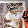 25-летняя художница из Малайзии Хонг Йи рисует с помощью кофе