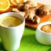 Имбирный чай – средство от простуды