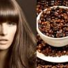 Окраска волос кофе