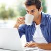 Кофе задерживает воду в организме мужчин