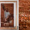 Художница из Малайзии сделала панно из чайных пакетиков