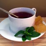 Сладкий чай успокаивает