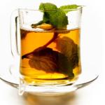 Рецепт холодного чая с мятным ликером