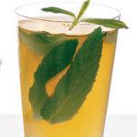 Рецепт холодного шипучего мятного чая