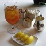Рецепт холодного лимонного чая со льдом и фенхелем