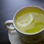 Зеленый чай с лимоном — здоровое сердце