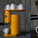 Симпатичная кофеварка