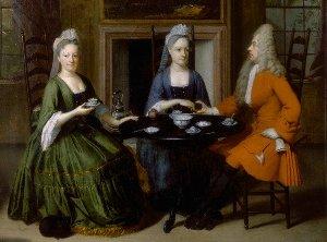 Как чай стал популярным напитком в Европе