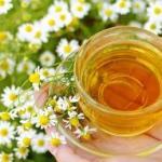 Ромашковый чай продлевает молодость
