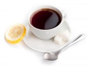 Чай с сахаром успокаивает нервы