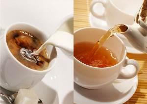Чай и кофе не вредны для здоровья в разумных пределах