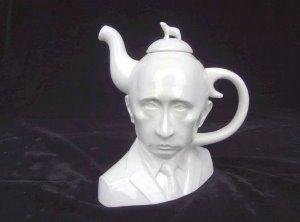 В США слепили чайник-голову Путина