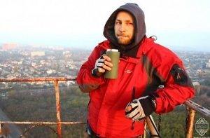 Выпили кофе на 160-метровой вышке
