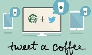 Через Твиттер можно подарить другу кофе