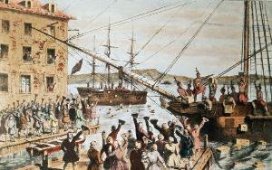 Бостонскому чаепитию стукнуло 240 лет
