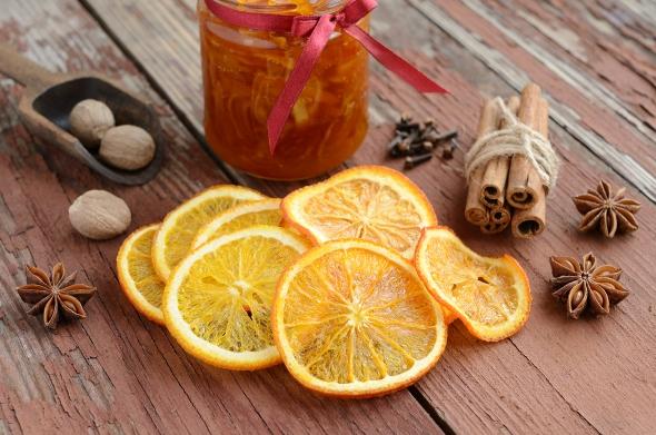 Корочки лимона, апельсина