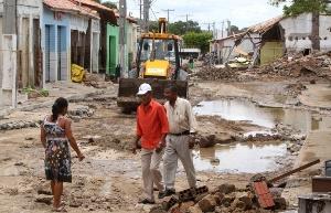Бразильцы штата Эспириту-Санту вынуждены оставить свои дома из-за наводнений