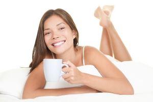 Зеленый чай делает женщин красивее