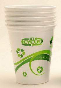 Экологичные стаканчики для кофе в самолетах