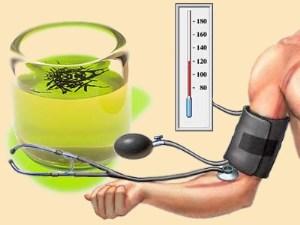Зеленый чай с лекарством от повышенного давления смешивать не стоит