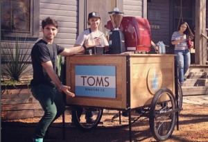 Велосипед-кофейня