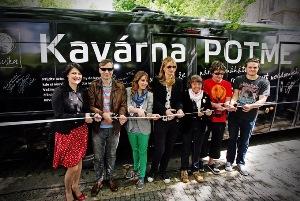 В Праге на Площади мира открылась кофейня «В темноте»