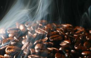 Акустика обжарки кофе