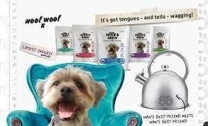 Британцы подумали и чае для собак