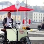 Кафе на велосипеде