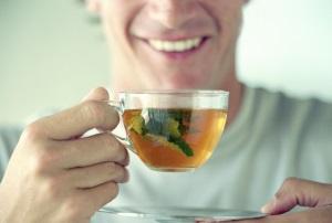 Зеленый чай делает мужчин более умными