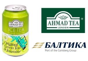 Холодный чай Ahmad Ice Tea