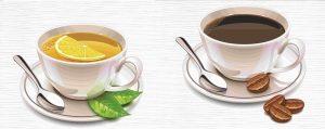 Что полезней для нашего организма - чай или кофе?